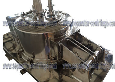 ประเทศจีน Stainless Steel Pharmacy plate Filtration Equipment , Food Hinger Cover Top Discharge Basket Centrifuge ผู้ผลิต