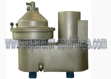 ประเทศจีน PLC Control Self - Cleaning Disc Separator Centrifuge Brewery System With Belt Drive ผู้ผลิต