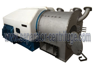 ประเทศจีน Control PLC Small Two Stage Pusher Type Centrifuge For Copper Sulphate Dewatering ผู้ผลิต