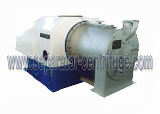 ประเทศจีน Two Stage Pusher Solid Bowl Centrifuge  Perforated Basket Centrifuge Machine ผู้ผลิต