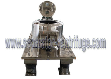 ประเทศจีน Hydraulic Scraper Bottom Horizontal Centrifuge Equipment / Perforated Basket Centrifuge ผู้ผลิต