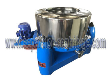 ประเทศจีน Manual Top Discharge Solid Bowl Basket Centrifuge for Algae Concentration ผู้ผลิต