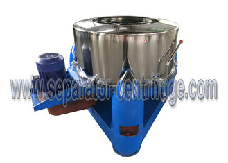 ประเทศจีน Model PTD Three Footed Manual Top Discharge Food Centrifuge / Liquid-solid Separation Machines ผู้ผลิต