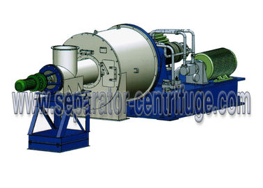 ประเทศจีน Horizontal Two Stage Pusher Centrifuge Salt Centrifuge Machine For Concentrating Salt โรงงาน