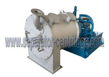 Two Stage Horizontal Continuous Pusher Centrifuge For Snow Salt