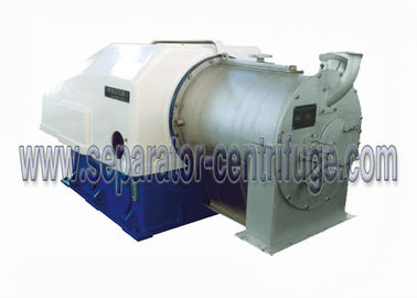 Two Stage Pusher Solid Bowl Centrifuge  Perforated Basket Centrifuge Machine