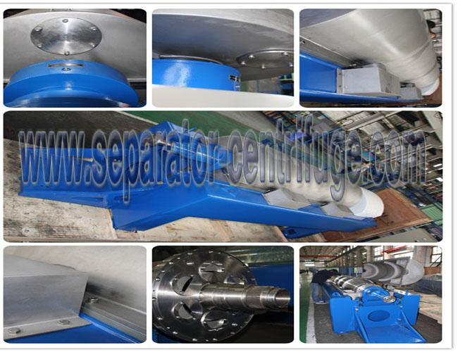 37KW Decanter Centrifuge For Calcium Hypochlorite 4000 × 1120 × 1239mm