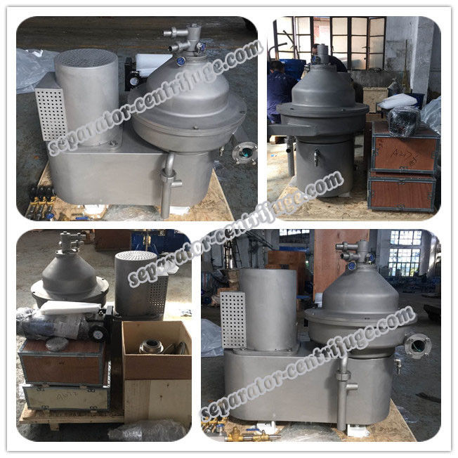 High Performance Disc Beer Separator - Centrifuge With Pressure Keeping System