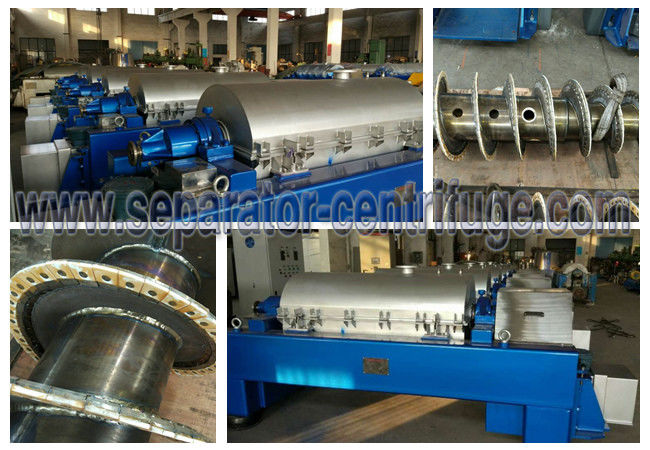 Titanium Chlor - Alkali Decanter Centrifuges For Sludge Dewatering