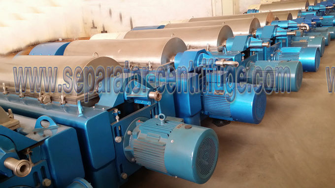 Automatic Continuous Popular Chemical Centrifuge Sludge Dewatering Decanter Dehydrator Centrifuge