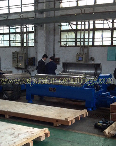 Model PDCS Decanter Centrifuges 3 Phase Horizontal Centrifuge Mud Separator Oil