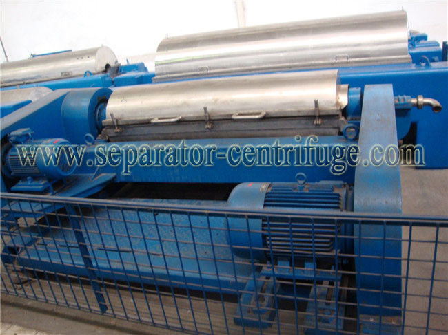 Model PDC SKF Bearing Decanter Centrifuge Continuous Centrifugal Separator Sunflower Oil